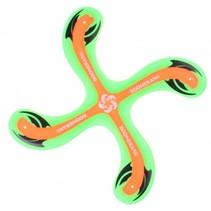 Outdoor Fun boomerang groen 25 cm