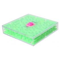 geduldspel Rotate Maze 6,5 cm groen