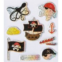 Stickers spin / vlag 9 stuks