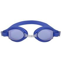 zwembril junior polycarbonaat blauw one-size