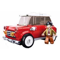 auto Model Bricks junior 26 x 19 cm rood 151-delig