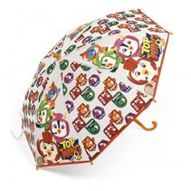 paraplu Top Wing junior 60 x 70 cm blauw