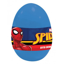 verrassingsei Spider-Man jongens blauw 4-delig