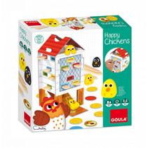kinderspel Happy Chicken junior karton
