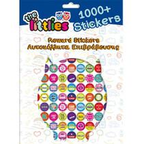 beloningsstickers 31 cm papier blauw 1000 stuks