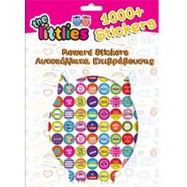 beloningsstickers 31 cm papier roze 1000 stuks