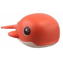 badspeelgoed opwindfiguur Dolfijn junior oranje