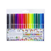 viltstiften Marker Pens gekleurd junior 18 stuks