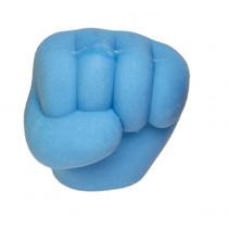 gum handgebaar 3,5 cm rubber blauw