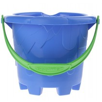 emmer zandkasteel blauw 12 x 10 cm
