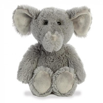 knuffelolifant Cuddly Friends 30 cm pluche grijs
