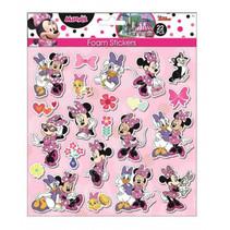 foamstickers Minnie Mouse 24 x 20,5 cm 22-delig roze