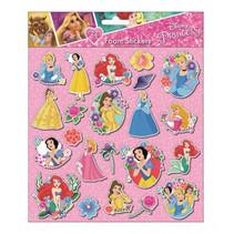 foamstickers Princess 24 x 20,5 cm 22-delig roze