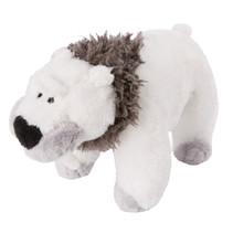 knuffel sabeltandijsbeer staand junior 16 cm pluche wit