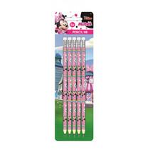 potloden Minnie Mouse HB hout roze 5 stuks