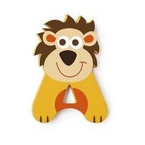 letter A leeuw geel 5.5 cm
