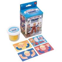 maak je eigen Trump junior karton/klei 5-delig