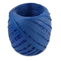 lint 20 meter papier blauw