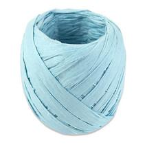 lint 20 meter papier babyblauw
