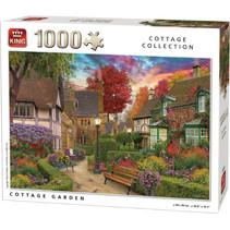 legpuzzel tuin en huisje 68 x 49 cm karton 1000 stukjes