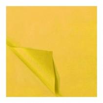 zijdevloeipapier 25 vellen 50 x 70 cm geel