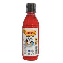 acrylverf Decor 250 ml junior acryl rood