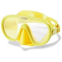 duikbril Sea Scan verstelbaar geel