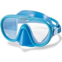 duikbril Sea Scan verstelbaar blauw