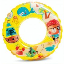 zwemband piraat junior 61 cm vinyl geel
