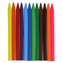 waskrijt gekleurd junior 12 stuks