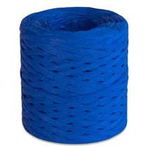 lint 200 meter papier blauw