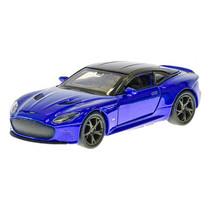 auto Aston Martin jongens 12 cm die-cast pull-back blauw