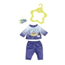 nachtoutfit Play&Fun 43 cm blauw