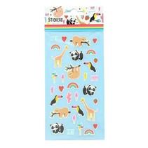 stickervel Happy Zoo 31 stickers