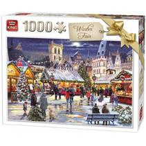 legpuzzel Winter Fair 68 x 49 cm karton 1000 stukjes