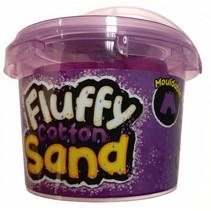 Fluffy Cotton speelzand junior 300 gram paars