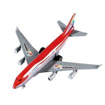 vliegtuig pullback 14 cm rood