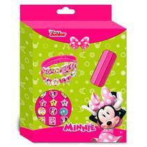 armbandjes Minnie Mouse meisjes roze 10-delig