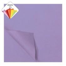 zijdevloeipapier 25 vellen 50 x 70 cm lila