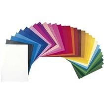 zijdevloeipapier 25 vellen 50 x 70 cm multicolor