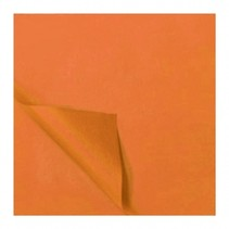 zijdevloeipapier 5 vellen 50 x 70 cm oranje