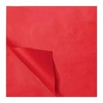 zijdevloeipapier 5 vellen 50 x 70 cm rood