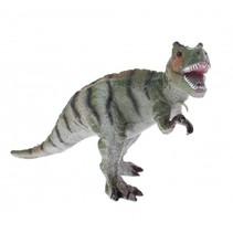 dinosaurus Animal World Alectrosaurus 17 cm grijs/groen