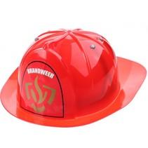 brandweerhelm rood 30 cm