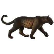 speeldier panter junior 12,4 x 5,4 cm rubber zwart