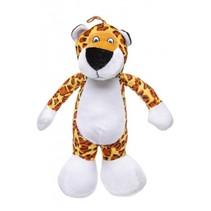 knuffel giraffe geel/wit 30 cm