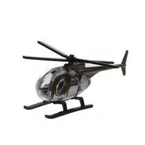 schaalmodel helikopter 1:64 groen 8 cm