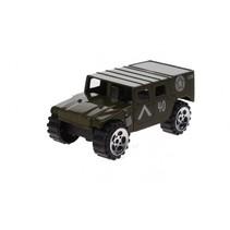 schaalmodel jeep 1:64 groen 7 cm