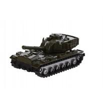 schaalmodel legertank 1:64 groen 7 cm