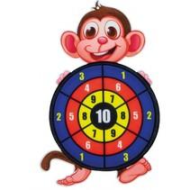 dartspel met ballen aap 34 cm